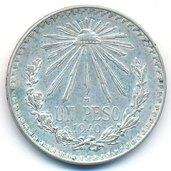 Мексика, 1 песо (1940 г.)