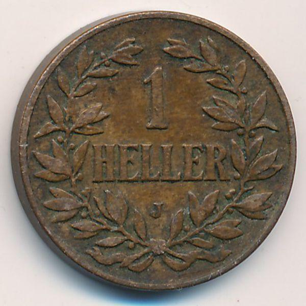 Немецкая Африка, 1 геллер (1911 г.)