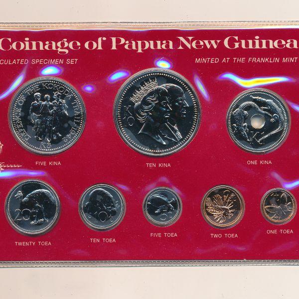 Папуа - Новая Гвинея, Набор монет (1982 г.)
