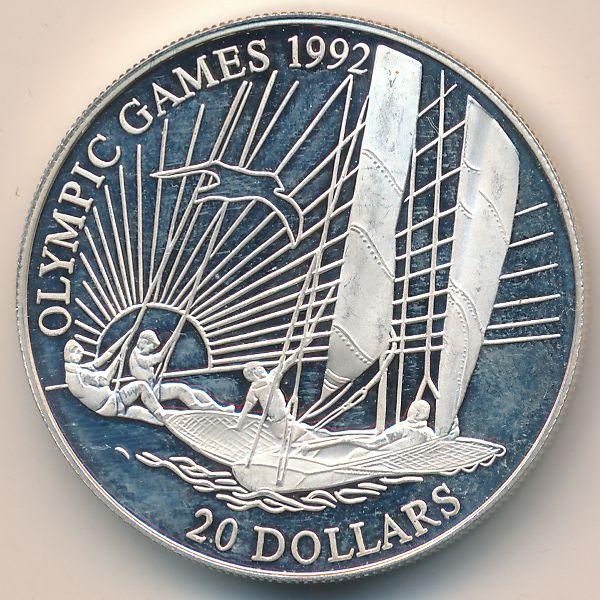 Кирибати, 20 долларов (1992 г.)