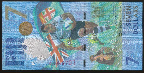 Фиджи, 7 долларов (2016 г.)
