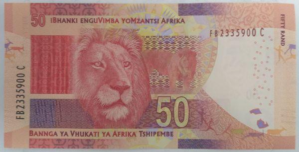 ЮАР, 50 рэндов