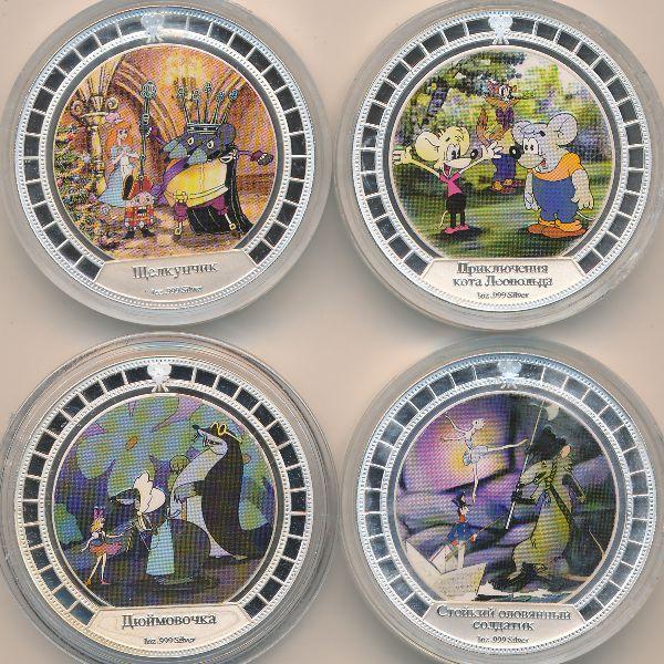 Острова Кука, Набор монет (2008 г.)