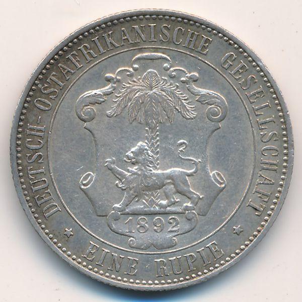 Немецкая Африка, 1 рупия (1892 г.)