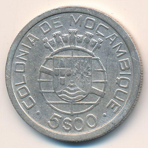 Мозамбик, 5 эскудо (1949 г.)