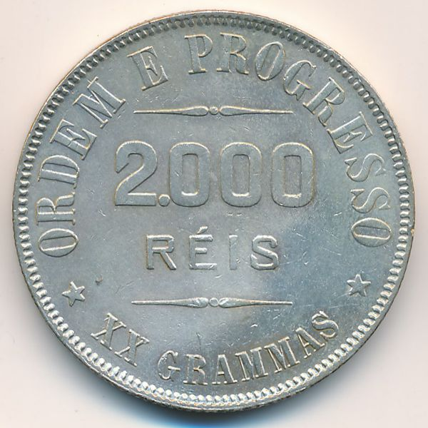 Бразилия, 2000 рейс (1907 г.)