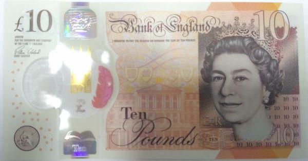Великобритания, 10 фунтов (2016 г.)