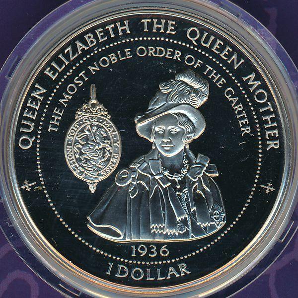 Острова Питкэрн, 1 доллар (1997 г.)