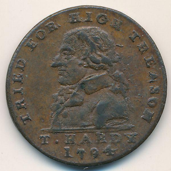 Мидлсекс, 1/2 пенни (1794 г.)