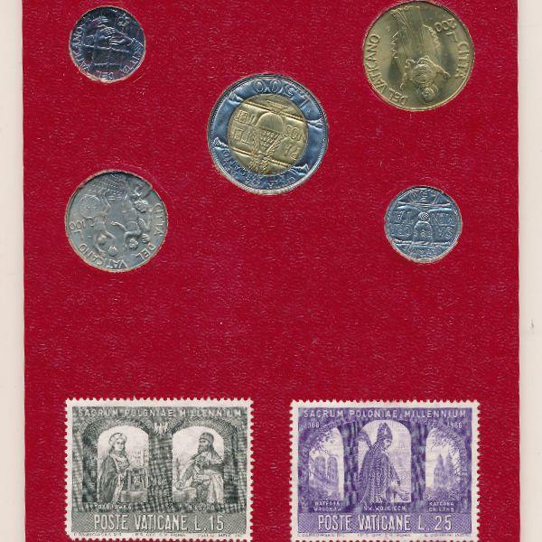 Ватикан, Набор монет