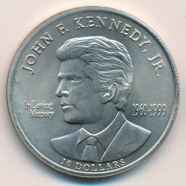 Либерия, 10 долларов (2000 г.)