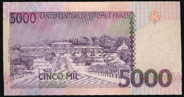 Сан-Томе и Принсипи, 5000 добра (2013 г.)