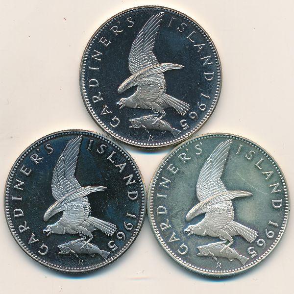 Остров Гардинер, Набор монет (1965 г.)