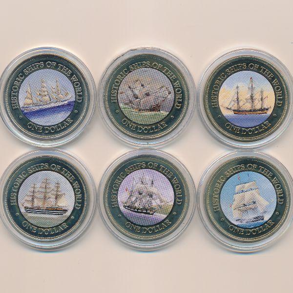 Острова Кука, Набор монет (2003 г.)