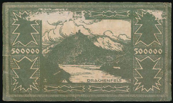 Зигбург., 500000 марок (1923 г.)