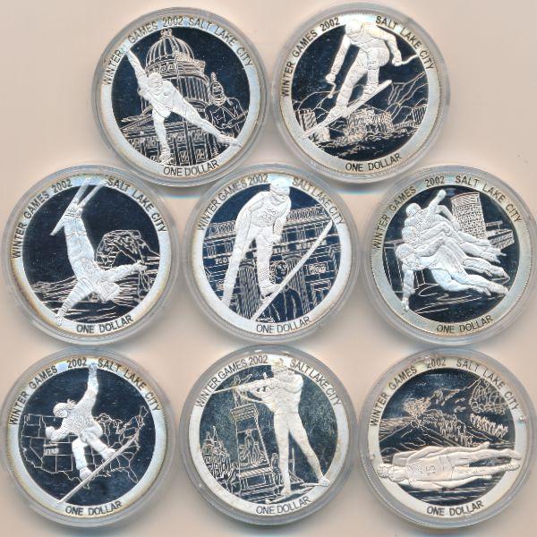 Острова Кука, Набор монет (2002 г.)