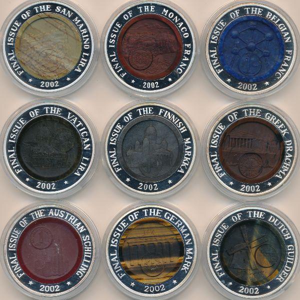 Северная Корея, Набор монет (2002 г.)