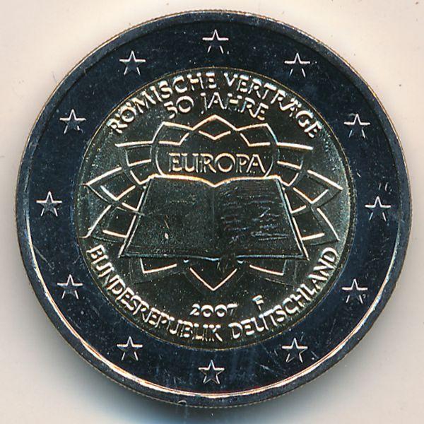 Германия, 2 евро (2007 г.)