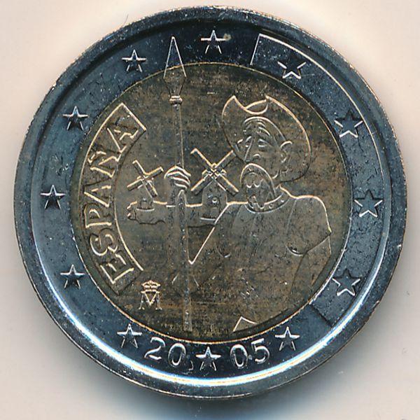 Испания, 2 евро (2005 г.)