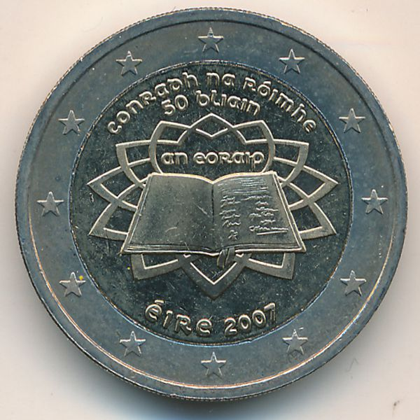 Ирландия, 2 евро (2007 г.)