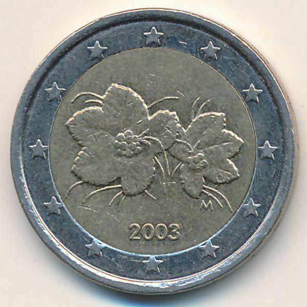 Финляндия, 2 евро (2003 г.)