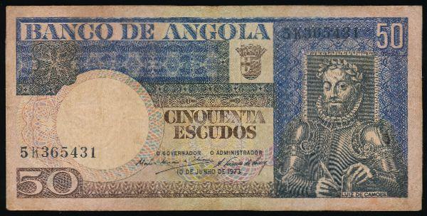 Ангола, 50 эскудо (1973 г.)