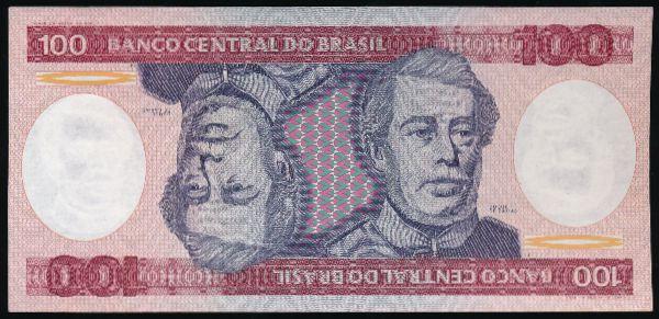 Бразилия, 100 крузейро
