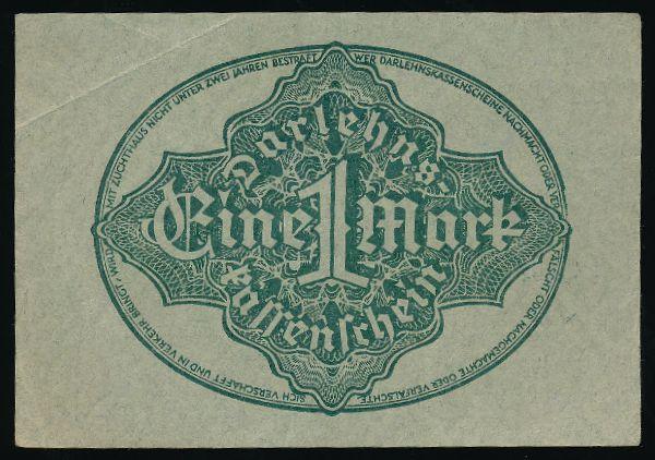 Берлин., 1 марка (1922 г.)