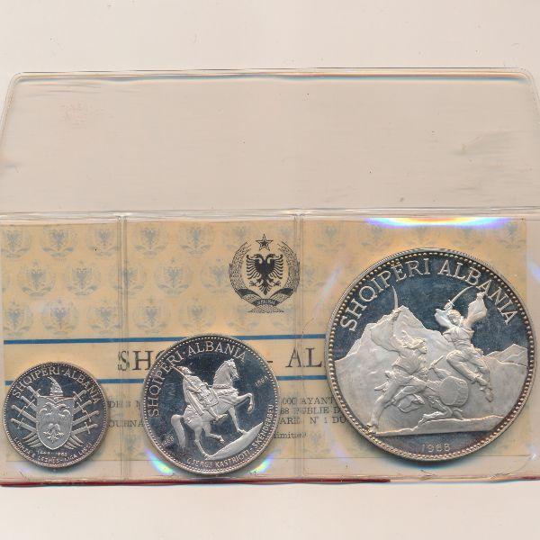 Албания, Набор монет (1968 г.)