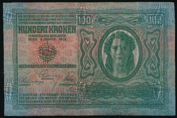 Австрия, 100 крон (1912 г.)