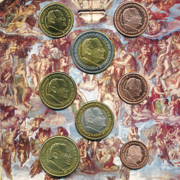 Ватикан, Набор монет (2004 г.)