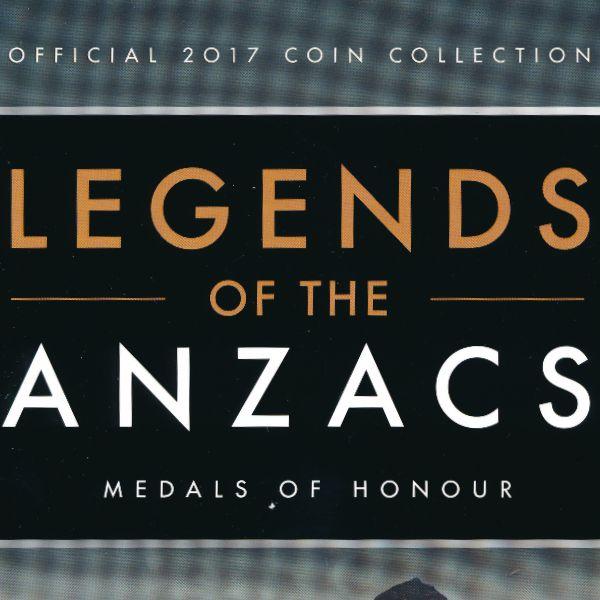 Австралия, Набор монет (2017 г.)