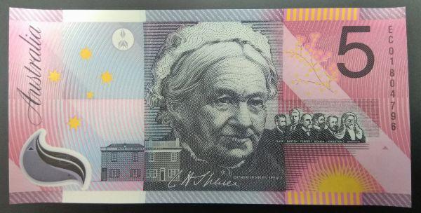 Австралия, 5 долларов (2001 г.)