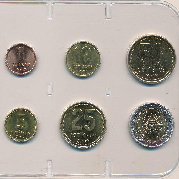 Аргентина, Набор монет