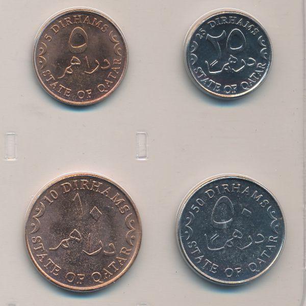 Катар, Набор монет