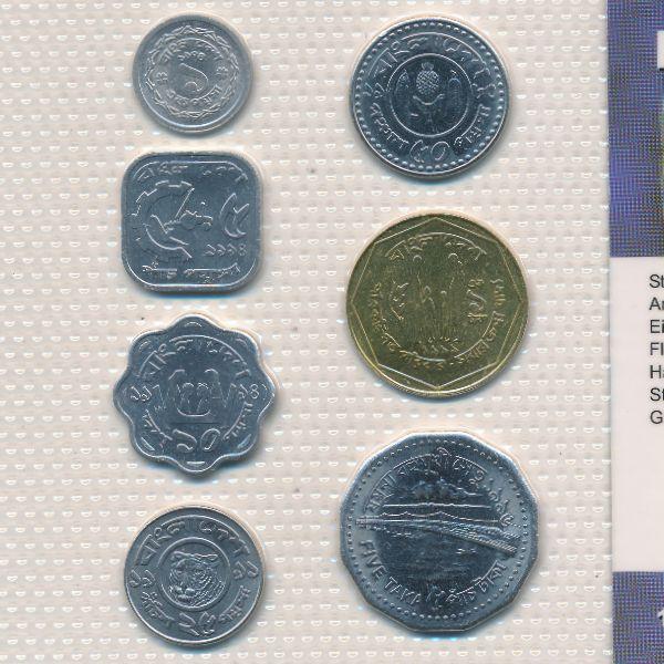 Бангладеш, Набор монет
