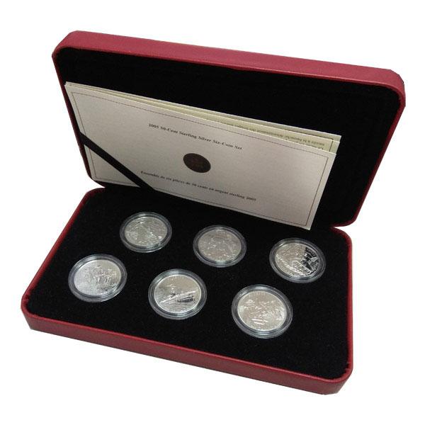 Канада, Набор монет (2005 г.)