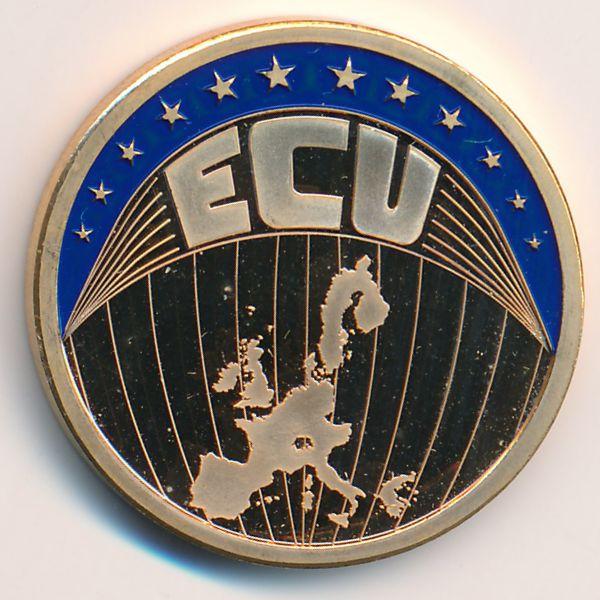 Европа, 1 экю (2000 г.)