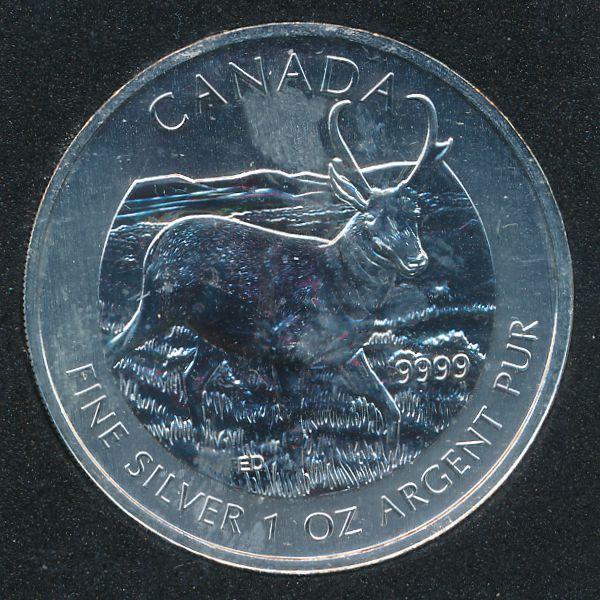 Канада, 5 долларов (2013 г.)