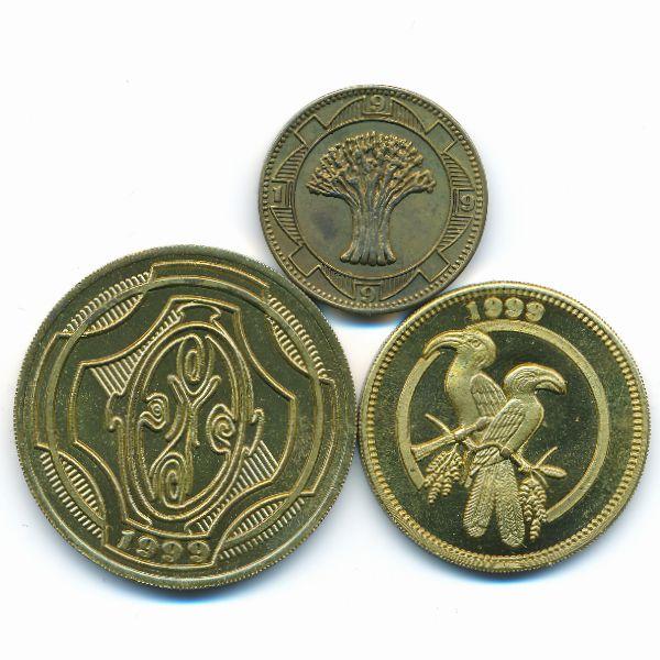 ЮАР, Набор монет (1999 г.)
