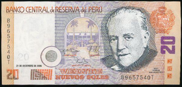 Перу, 20 новых солей (2006 г.)