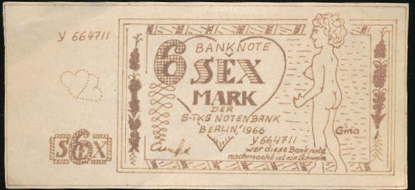 Билеты, 6 секс марок