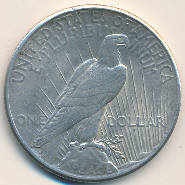 США, 1 доллар (1925 г.)
