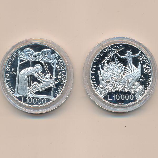 Ватикан, Набор монет (1997 г.)