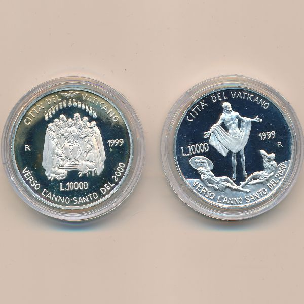 Ватикан, Набор монет (1999 г.)