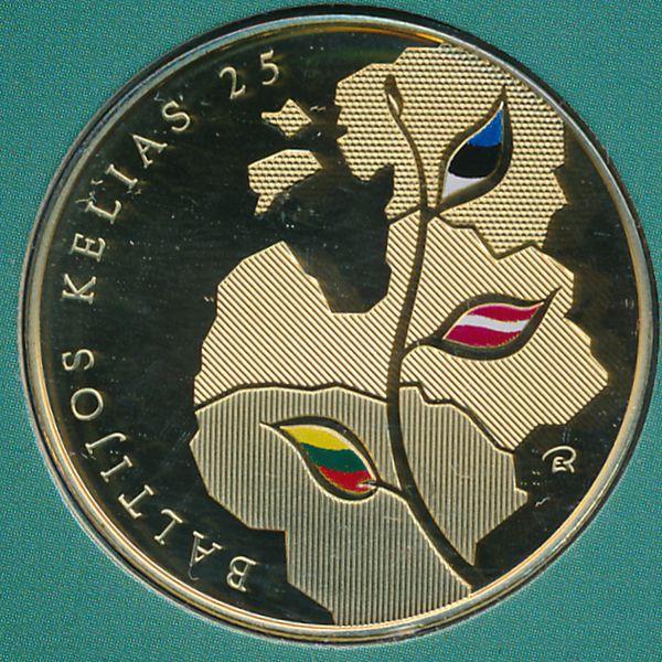 Литва, 25 лит (2014 г.)