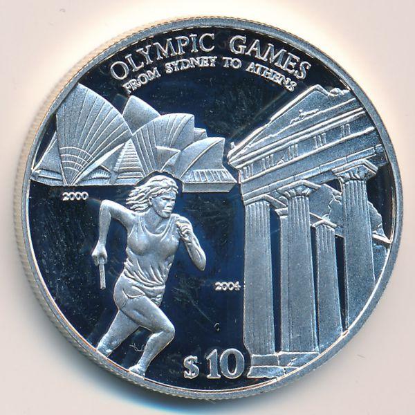 Соломоновы острова, 10 долларов (2004 г.)