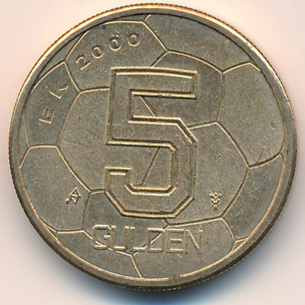 Нидерланды, 5 гульденов (2000 г.)