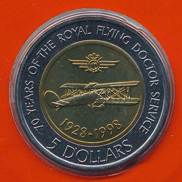 Австралия, 5 долларов (1998 г.)