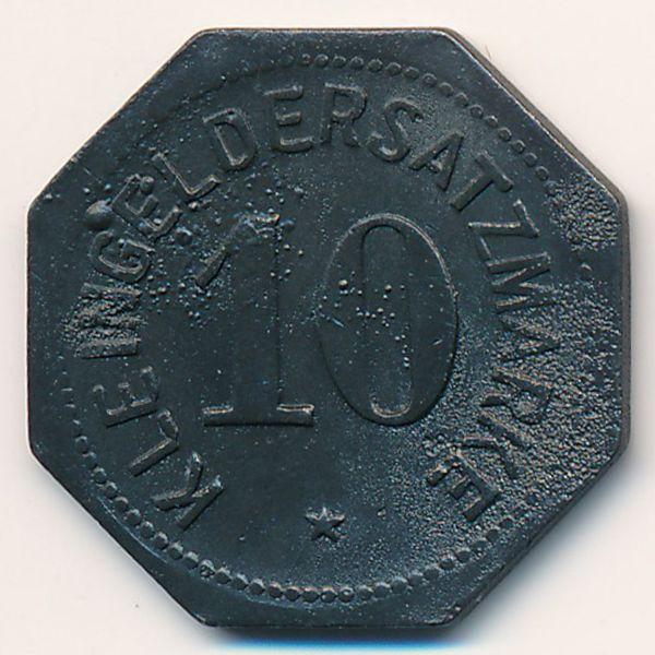 Майнц., 10 пфеннигов (1917 г.)
